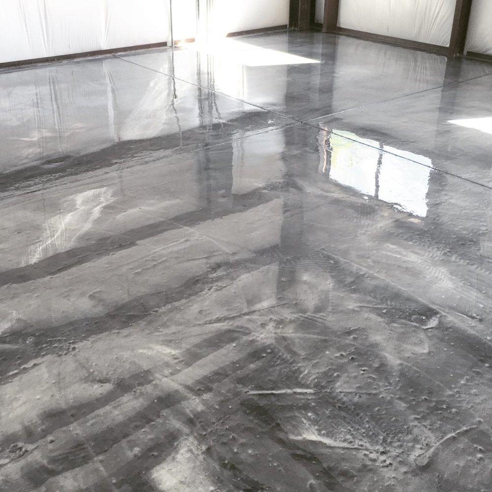 Metalic Epoxy Flooring